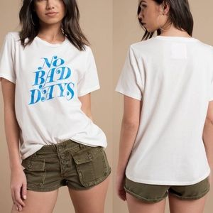 BAN.DO NO BAD DAYS IVORY CLASSIC TEE